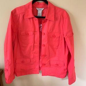 NWT lightweight LLBean jacket